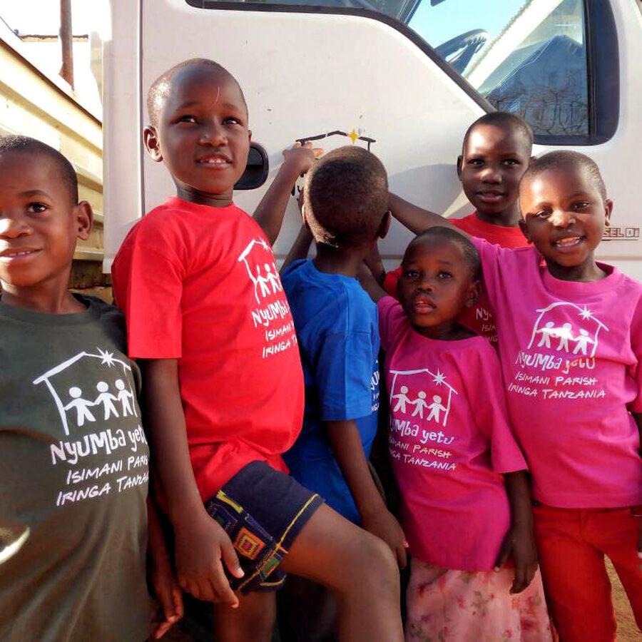Africa, Tanzania, nyumba yetu, bambini