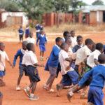 Africa, Tanzania, villaggio, Isimani, calcio, giocare, bambini, partita