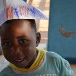 Africa, Tanzania, nyumba yetu, bambini, gioco, cappello