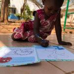 Africa, Tanzania, nyumba yetu, bambini, disegno, giocare, gioco